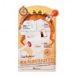 Elizavecca Маска увлажняющая и осветляющая Aqua White Water Illuminate Mask Pack