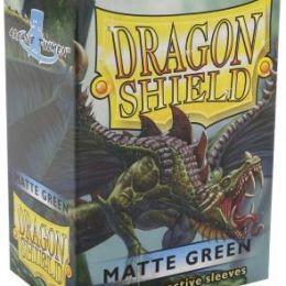 Протекторы Dragon Shield матовые зеленые