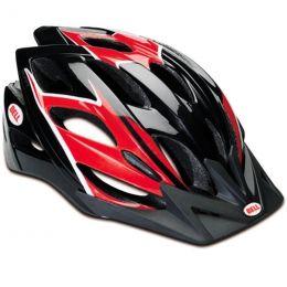 Шлем велосипедный BELL.Slant, 54-61см (черно-красный)