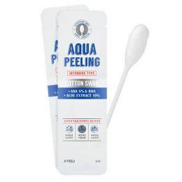 A'PIEU Пилинг для лица с AHA-кислотами на ватной палочке A'PIEU Aqua Peeling Cotton Swab (Intensive)