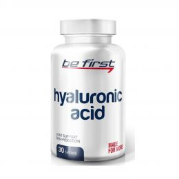 Be First Hyaluronic acid 30tab