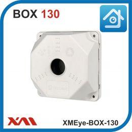 XMEye-BOX-130. Универсальная монтажная коробка для камер видеонаблюденияя. 130х130х50 мм.