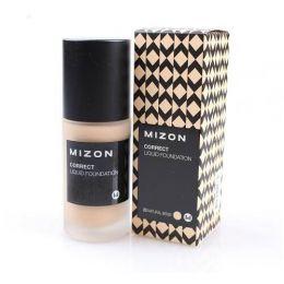 MIZON Увлажняющая тональная основа под макияж Correct Liquid Foundation SPF 26 PA+++ #25 Dark Beige