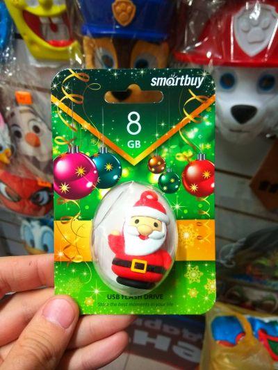 Флешка 8 Гб USB Дед Мороз