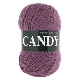 Vita Candy 2534 (пыльная роза),100% sw шерсть, 100 гр.178м.