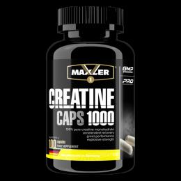 MAXLER, creatine, банка 100капс