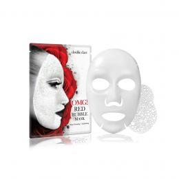 OMG бабл маска для лица очищающая с экстрактами 8 растений red snail mask