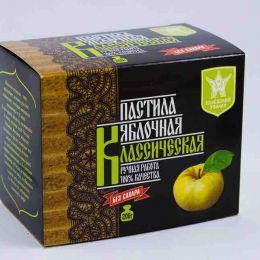 Пастила яблочная классическая без сахара 200гр.Эталон