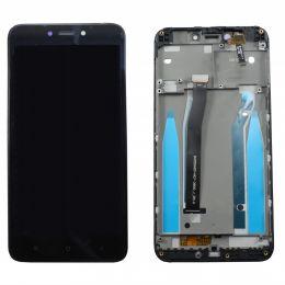 Дисплей для Xiaomi Redmi 4X модуль Черный с рамкой