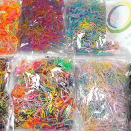резинки для плетения, набор 1000 шт