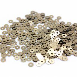 Пайетки плоские 2071 Metallizzati 3 мм 3 гр (Италия)
