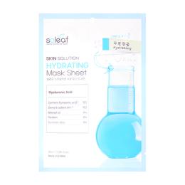 SOLEAF Увлажняющая маска для лица c гиалуроновой кислотой и алоэ