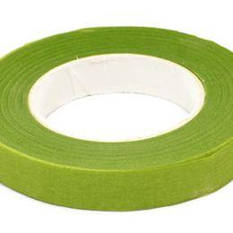 Тейп лента 12 мм, 27,4 м. цв.: салатовый