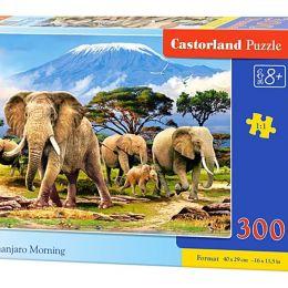 Пазл 300 элементов Утро в Килиманджаро.