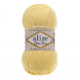 Alize Baby best 250 (св.лимон), 100гр. 240м. 90%акрил, 10% бамбук
