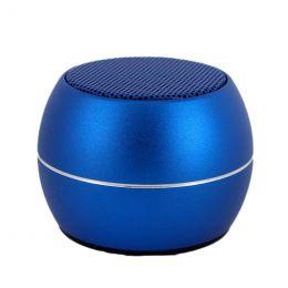 Портативная акустика BT, USB, SD, TG, BM3D, blue