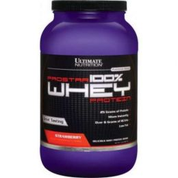 ULTIMATE NUTRITION, whey protein, банка 907гр. Strawberry