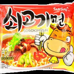 """Лапша б/п со вкусом говядины """"Sogokimyun"""" 120г. пачка"""