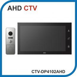 CTV-DP4102AHD (Черный). Комплект цветного видеодомофона с Wi-fi.