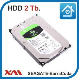 HDD 2 Tb. Seagate BARRACUDA ST2000DM008. Жесткий диск 3.5.