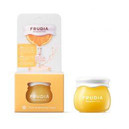 Миниатюра Frudia Citrus Brightening Cream Miniature/Фрудиа Крем с цитрусом, придающий сияние коже.