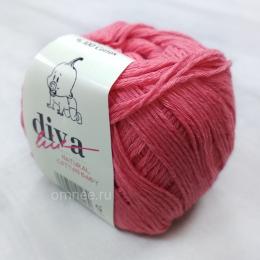 Diva natural cotton baby (10 розовый), 100% хлопок, 50 г. 200 м.