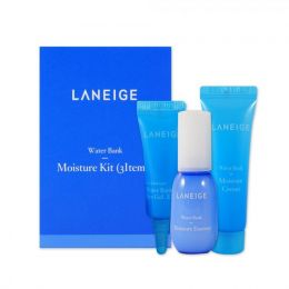 Laneige Water Bank Moisture Kit (3 items) Moisture Essence 10ml Набор интенсивно увлажняющих миниатюр