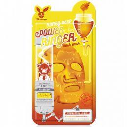 Elizavecca Тканевая маска с медом Deep Power Ringer Mask Pack Honey