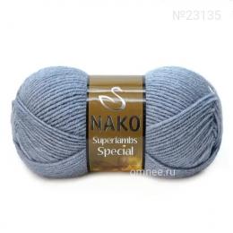 NAKO Superlambs special (23135 джинс), шерсть ягнят 49% и акрил 51%, 100 гр. 200 м.