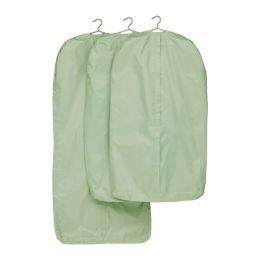 СКУББ Чехол для одежды, светло-зеленый, 1 шт