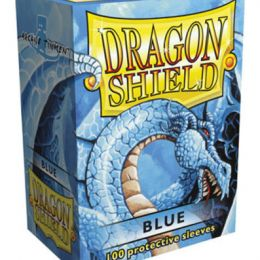 Протекторы Dragon Shield синие