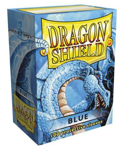 Протекторы Dragon Shield синие