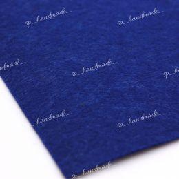 Фетр жесткий 1 мм 20см*30см синий 1 шт/ полиэстер
