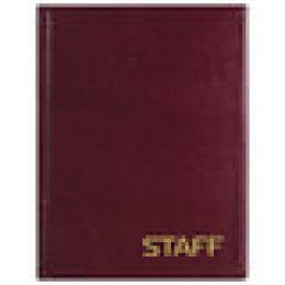 Книга телеф. А5 80л STAFF выруб. алфавит спираль
