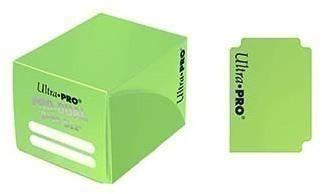 Пластиковая коробочка Ultra-Pro «Pro Dual Small - Light Green»
