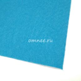 Фетр листовой мягкий 1,2 мм, 20х30 см, цв.: 683 голубой