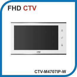 CTV-M4707IP-W (Белый). Монитор видеодомофона с Wi-fi.