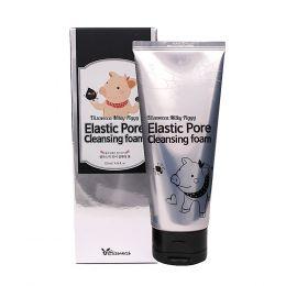 Elizavecca Пенка с древесным углем для очищения и сужения пор Face Care Milky Piggy Elastic Pore Cleansing Foam
