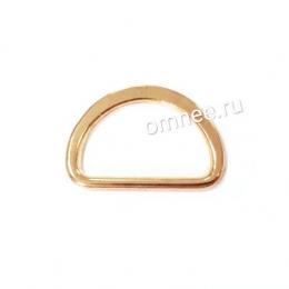 Полукольцо металлическое, 2 см, цв.: золото