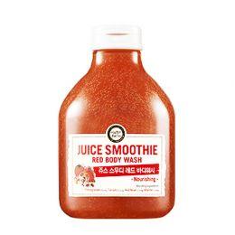 Happy Bath Пенка для душа красные экстракты Juice Smoothie Red Body Wash