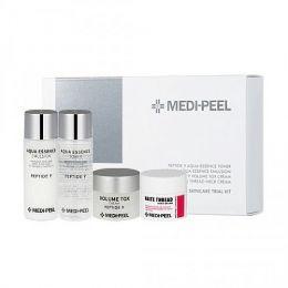 MEDI-PEEL Набор средств омолаживающий с пептидами. Peptide 9 skincare trial kitl, 10*30*30*10 мл.