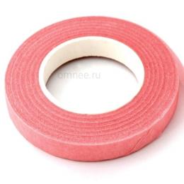 Тейп лента 10 мм/ 27,4 м. цв.: розовый