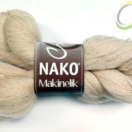 Nako Makinelik, , 100% Акрил,219 беж, 100 гр, 1220 м