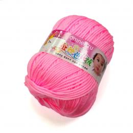 Fashion baby silk 643, 60% шёлк, 30% шерсть, 10% микрофибра, 50гр. 130 м.