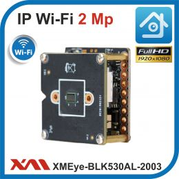 XMEye-BLK530AI-40x38-WP1 + CMOS2003-38x38-WP1. 1080p. 2 Мп. Модульная камера видеонаблюдения IP - Wi-Fi.