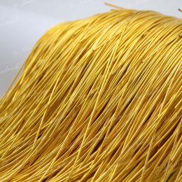 Канитель мягкая Honey Gold 1 мм 5 гр (Индия)