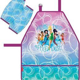 Disney Фартук детский Феи Цветочная вечеринка с нарукавниками