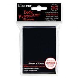 Цветные протекторы Ultra-Pro - Черные (50 шт.)
