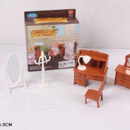 Животные флоксовые 012-05B (120шт) Happy Family, письменный стол, в короб.12*14*5см