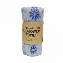 Tamina Easy-Well TS-30 Shower Towel Мочалка для душа оригинальной вязке из гофрированного волокна